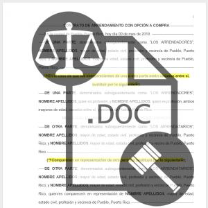 DESCARGA MODELOS DE DOCUMENTOS AQUÍ: Legales y Notariales